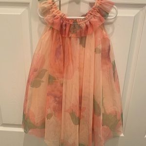 GAP floral tulle dress